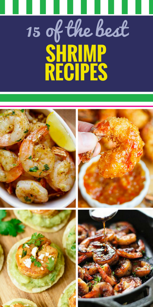 15 Shrimp Recipes. Not only is shrimp healthy and easy to prepare, but it's just as amazing in a pasta dish as it is on a salad, in a soup or paired with a butter and herb sauce. Whether spicy or slightly sweet, grilled, fried or made in the crockpot, these shrimp recipes are perfect for lunch or dinner.
