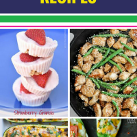 15 Simple Healthy Recipes. Eating well doesn't have to be complicated. We've for 15 meal ideas (and even desserts) that are fast and easy - we love the chicken-topped salad that's filling enough to be a dinner entree.