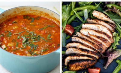15 Simple Paleo Recipes. You can enjoy easy dinner recipes - even some for your crockpot - and still stick with your healthy paleo lifestyle. These meal ideas, like chicken salad and hearty veggie soup, can be put together easily while still being SO satisfying.