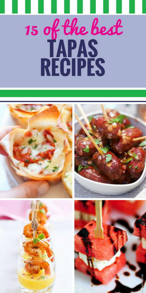 15 Tapas Recipes. Whether they're served before a meal or they make up the entire yummy menu, these easy appetizers will be the hit of your next party.