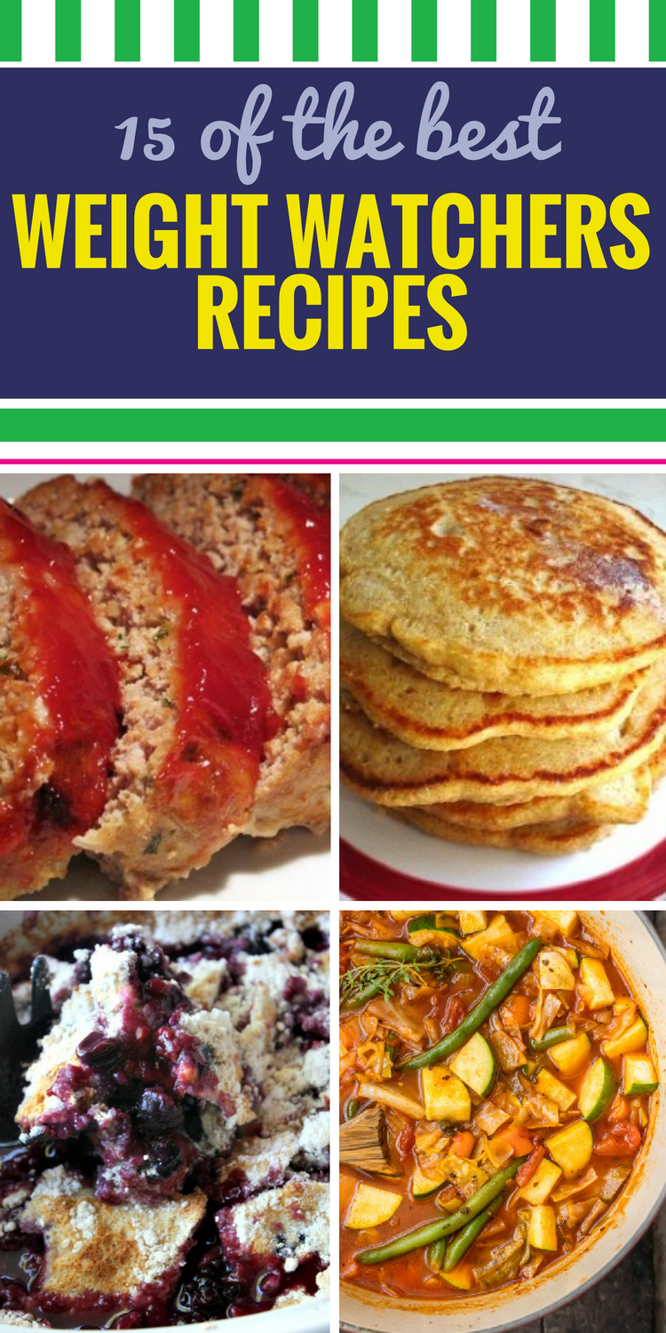 15 Weight Watchers Dinner Recipes. It can be a challenge to get variety in a healthy diet, and when you're craving desserts or a rich, creamy chicken casserole? Forget it. That is until now - we have 15 guilt-free recipes you'll love.
