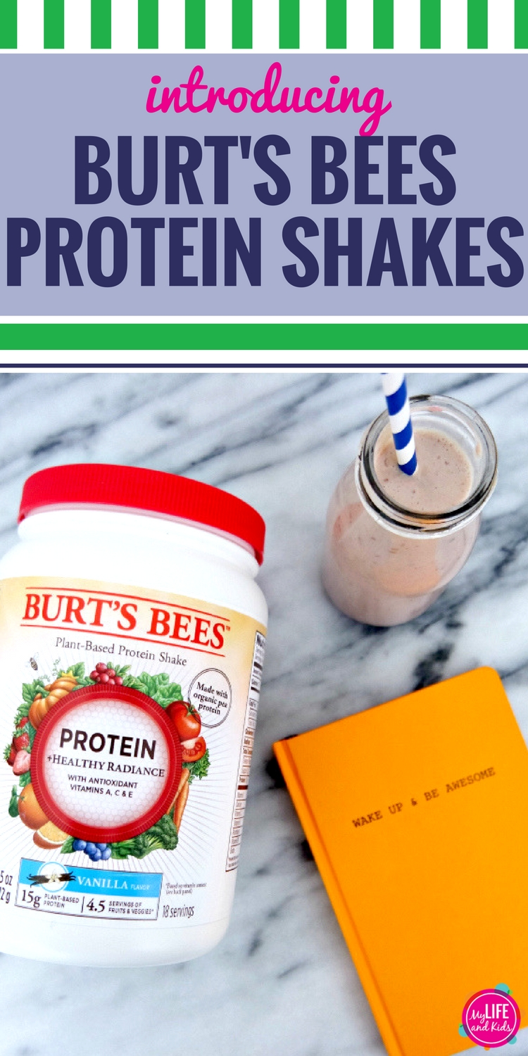 I have no doubt that you're going to love Burt's Bees™ Protein Shakes as much as I do! Not only are they delicious, they're free of artificial flavors and have a silky smooth texture that's not gritty or chalky. Plus, all of their formulas include a vitamin blend extracted from real fruits and vegetables. The vitamin blend includes spinach, broccoli, carrot, beet, tomato, shiitake mushroom, apple, cranberry, cherry, orange, blueberry and strawberry. Excited to partner with Burt's Bees to share information about their protein shakes