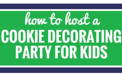 Hosting a cookie decorating party for kids can be simple. Whether you're celebrating Christmas, winter or another holiday, follow these simple ideas to keep kids from eating too much sugar. You especially want to try this frosting tip.