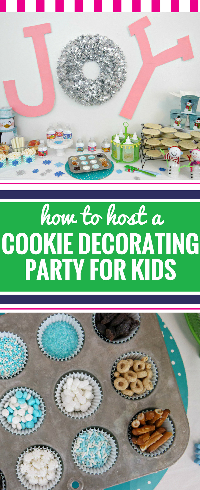 cookie decorating party pin - Christmas Cookie Decorating Party