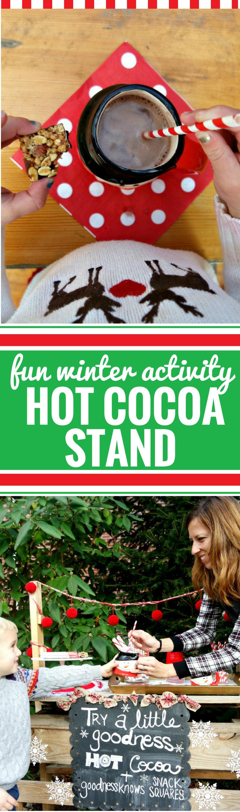 Diy Hot Chocolate Stand My Life And Kids