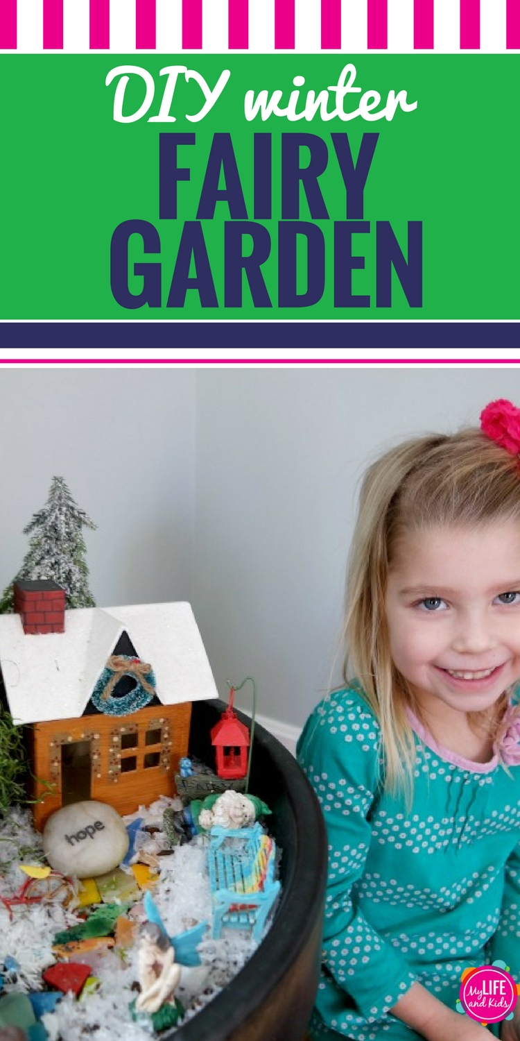 Creating a DIY fairy garden can be a fun winter activity for kids (and you!) Use these fun ideas to learn how to make your own fairy garden in a potted plant, plus see ideas for drawing a fairy garden and what to use for the fairy house.