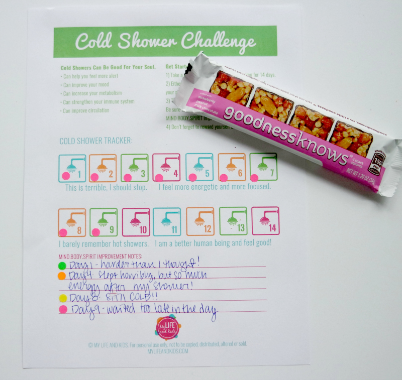 I decided to try taking a cold shower every single morning. YES - I said every single morning. Some say that this practice is healthy and can lead to burning fat faster, feeling more alert, improved circulation and more! Hear about my results after two weeks of cold showers, plus download a free cold shower challenge tracker printable so you can do it too! tryalittlegoodness spon