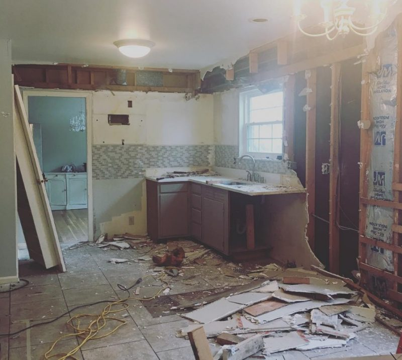 My Kitchen Remodel Diary... - My Life and Kids