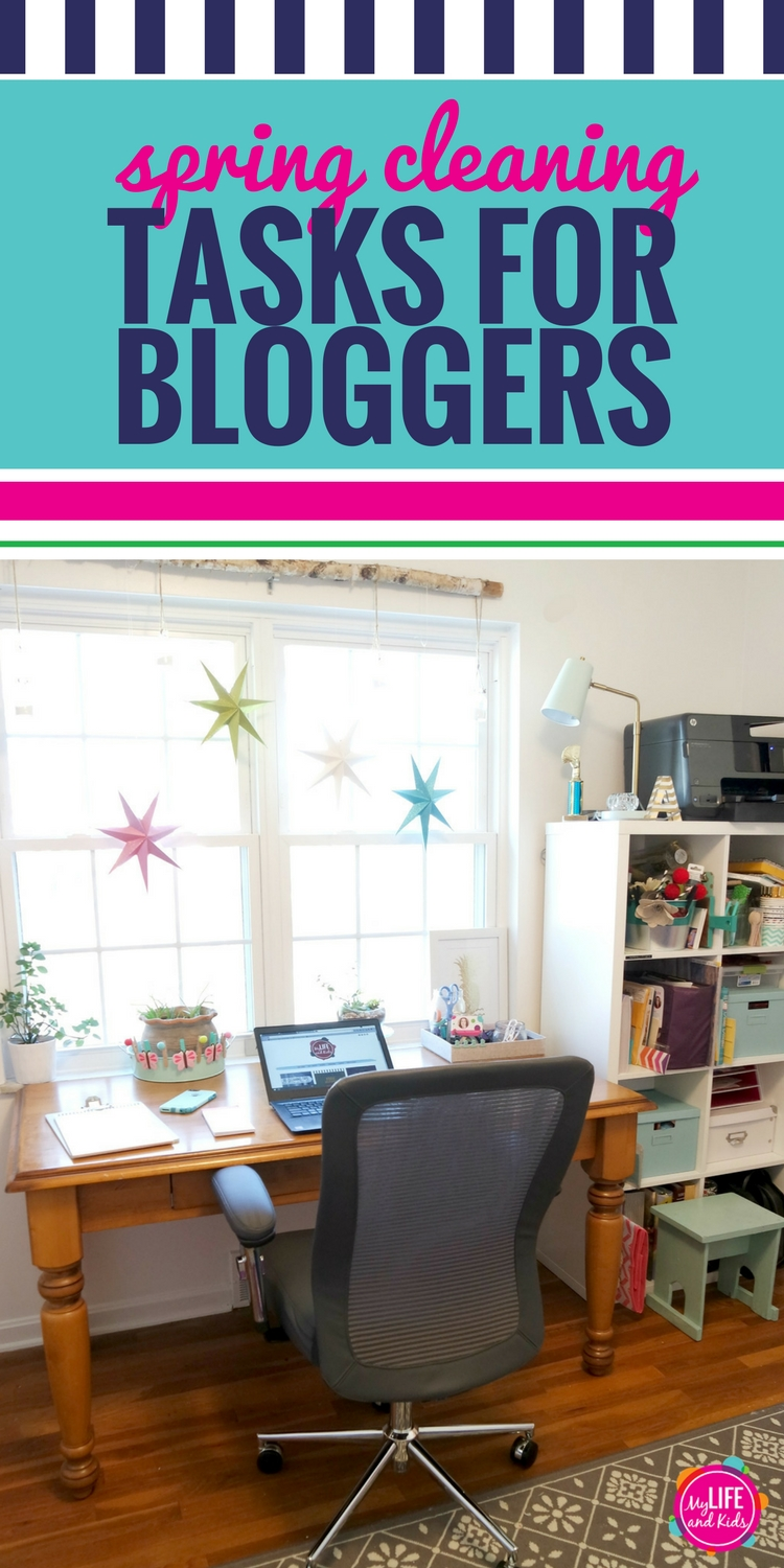Are you a blogger or entrepreneur with an online business? I'm sharing some great spring cleaning ideas to help you stay organized and stay that way for the rest of the year. Plus you'll see my favorite tools and products to help you stay as efficient as possible while you're working.