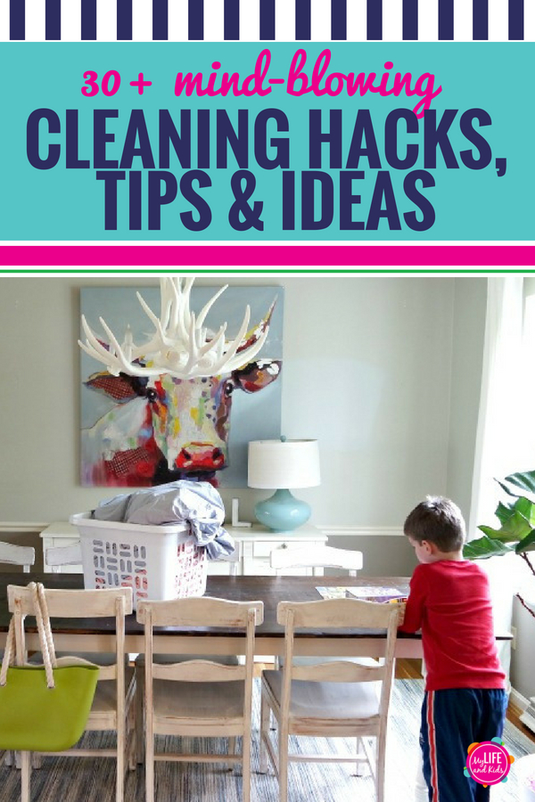 Amazing cleaning tips and hacks for families.