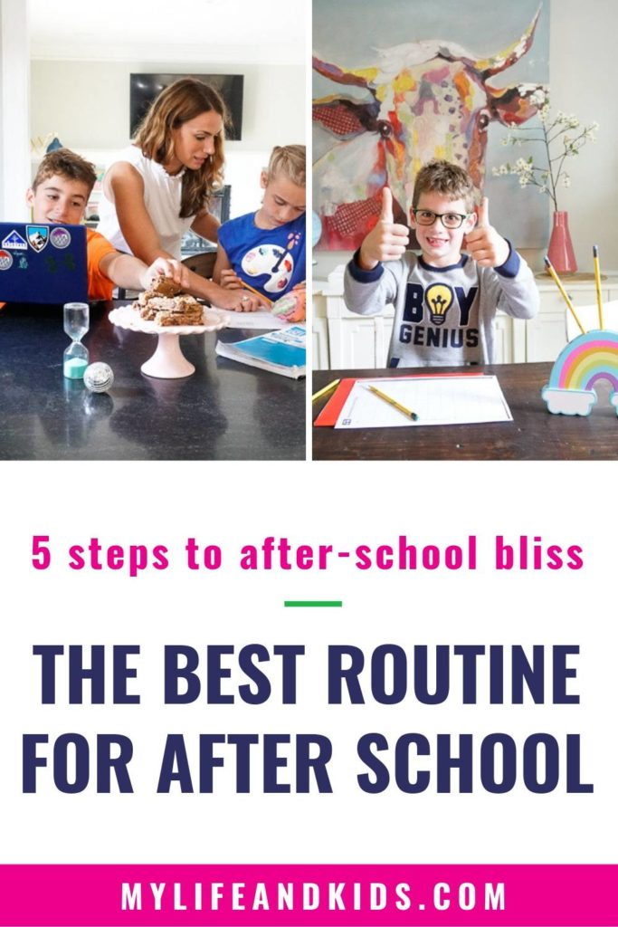 How to Completely Change Your After-School Routine For the Better
