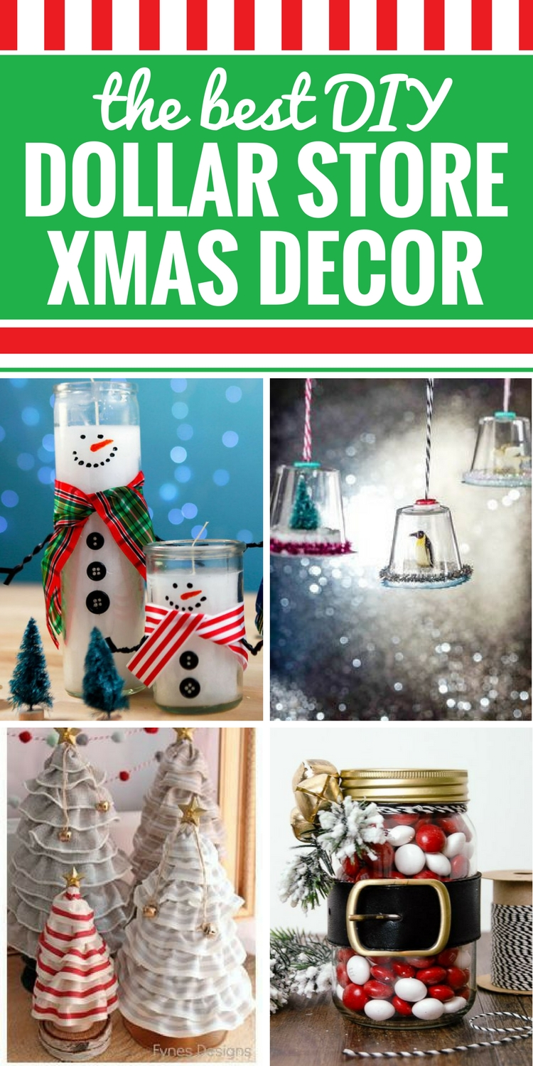 diy dollar store christmas decor my life and kids