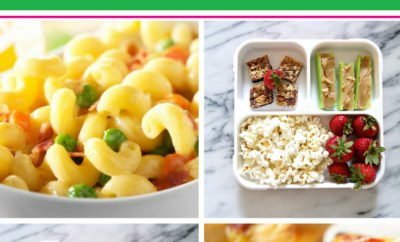 Do you dread packing lunches? Not anymore! These 30 packed lunch ideas are healthy and easy and will inspire you to pack healthy lunches for school every day of the week. From sandwiches to soup and even lunches you can make ahead, these lunch ideas are great for kids. #lunch #backtoschool #packedlunch #recipes #easy