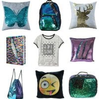 Whether you're looking for the perfect Christmas gift, or even a birthday gift - or maybe your child needs a sensory or fidget device - I have loads of mermaid sequin gift ideas that your tweens and teens are going to love. (And your toddlers probably will too!) From hats to backpacks and even furniture, the mermaid color-changing sequin craze is everywhere, and these gifts are sure to be a hit for the holidays!