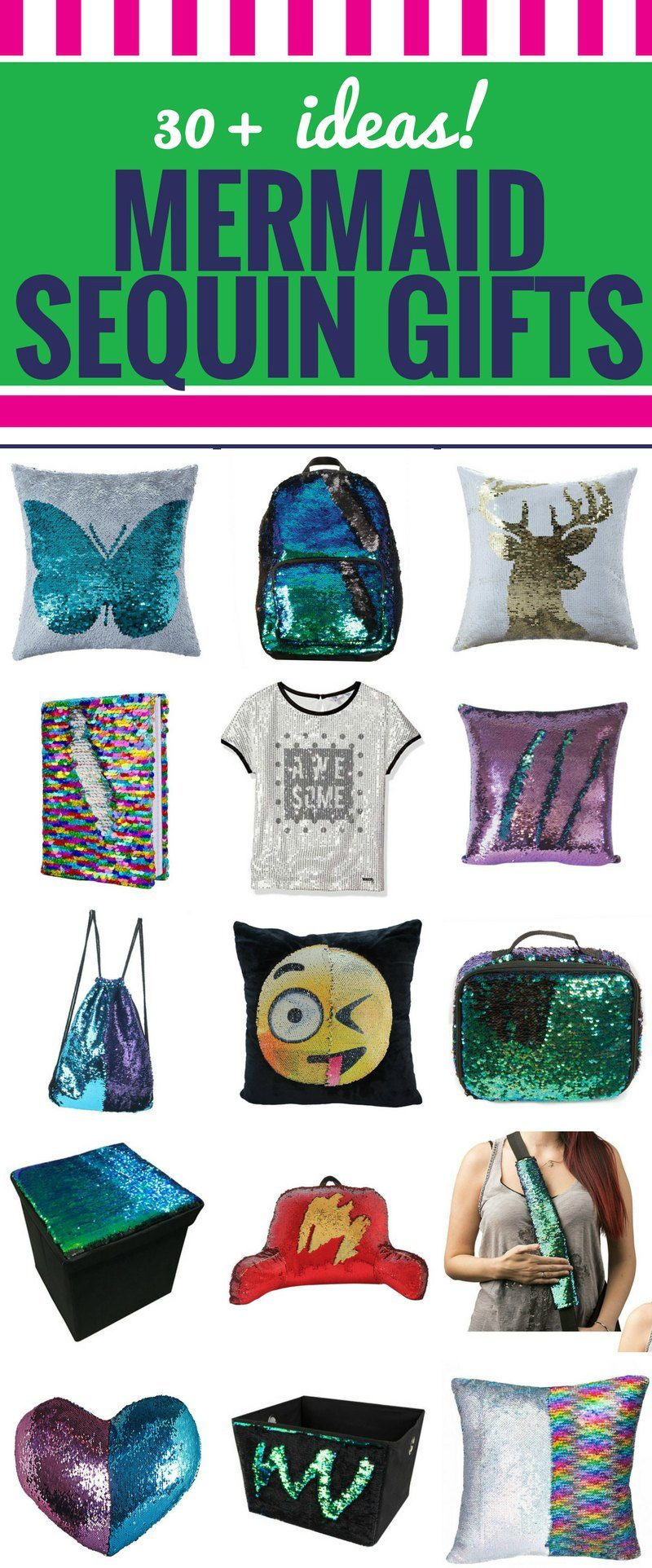 Mermaid Sequin Gift Ideas for Teens, Tweens and Toddlers - My Life ...