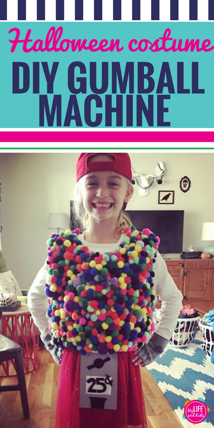 DIY Gumball Machine Halloween Costume - My Life and Kids