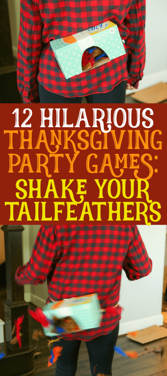 12 Awesome Minute to Win It Thanksgiving Games