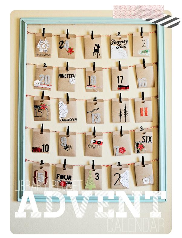 Self Made Advent Calendar : Diy advent calendars my life and kids
