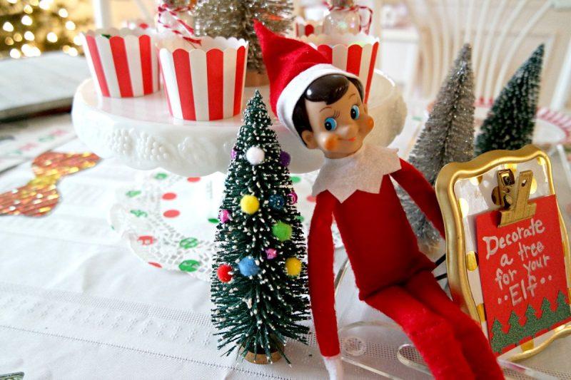 Christmas Elf Coloring Sheets