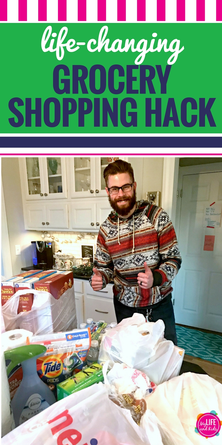 Are you sick of grocery shopping? Do you dread the grocery store? If you're a busy mom, this grocery store hack is going to change your life. Simply order your groceries online and a Shipt shopper will deliver them to your kitchen counter the same day. Click here to learn more about why I love Shipt, plus grab a discount code to save big your first year. #Shipt #groceryhack #groceries #busymom #bemerrywithmeijer #giveaway #ad