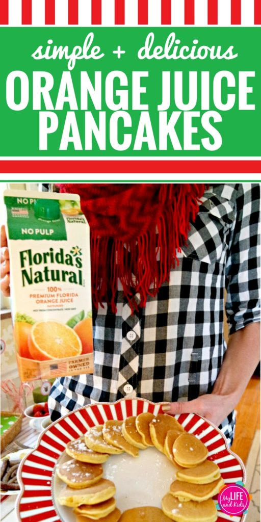 These Orange Juice pancakes are insanely easy to make and so delicious. Delight your guests at your next brunch, or make a big batch this weekend to heat up all week long. Your kids will love them, and your family will too.
