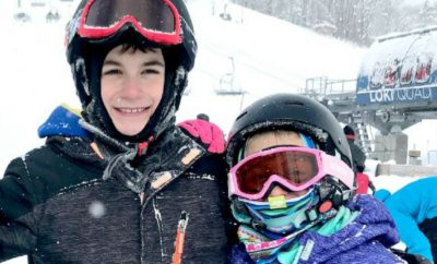 Whether you're taking the kids to downhill ski at resorts or staying close to home, these tips for ski gear for children will guide you through what products and gear you should buy in advance and what you should plan to rent this winter. Great for toddlers too. #skigear #skitrip #skiingwithkids #winter #snow #downhillski