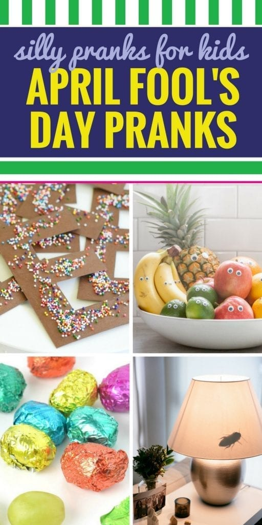 The entire family will love getting in on the fun with these easy April Fool's Day Pranks. From teens to young kids, these funny last-minute pranks are perfect for siblings, friends and even husbands. #AprilFools #silly #pranks #kids #AprilFoolsDay