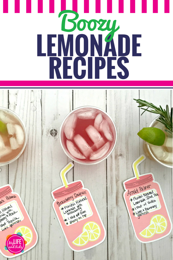 Lemonade cocktails taste like summer, and they could NOT be easier to make! Whether you prefer rum, tequila or vodka, we have a spiked boozy lemonade drink for you! Don't skimp on the alcohol as you follow these recipes to whip up a big batch in a pitcher that you can serve at your next party or adult lemonade stand. #FloridasNatural #ad #summer #cocktail #spiked #alcohol #boozy #lemonade #icedtea #grownups