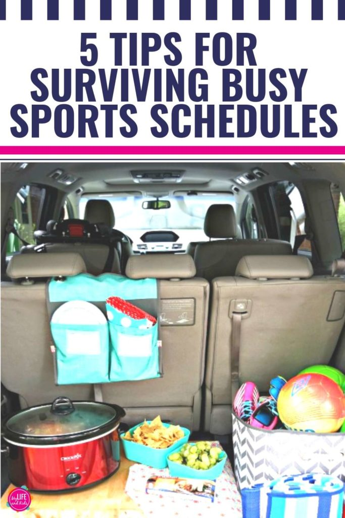5 Tips for Surviving Busy Sports Seasons