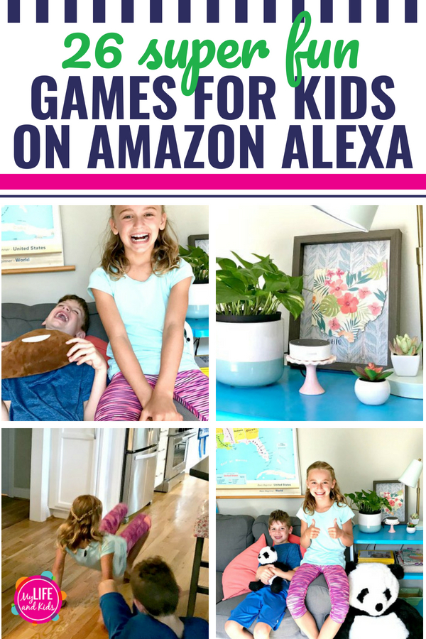 If you have an Amazon Alexa Echo Dot, there are countless skills, hacks and commands that will make your life easier. My favorite use for the Amazon Alexa is for kids! When I asked my kids to share their favorite fun games to play with Alexa, they narrowed them down to a whopping 26. HA! directenergy ad #echo #dot #amazonalexa #alexa #gamesforkids #parenting #tweens #kids #games #fun