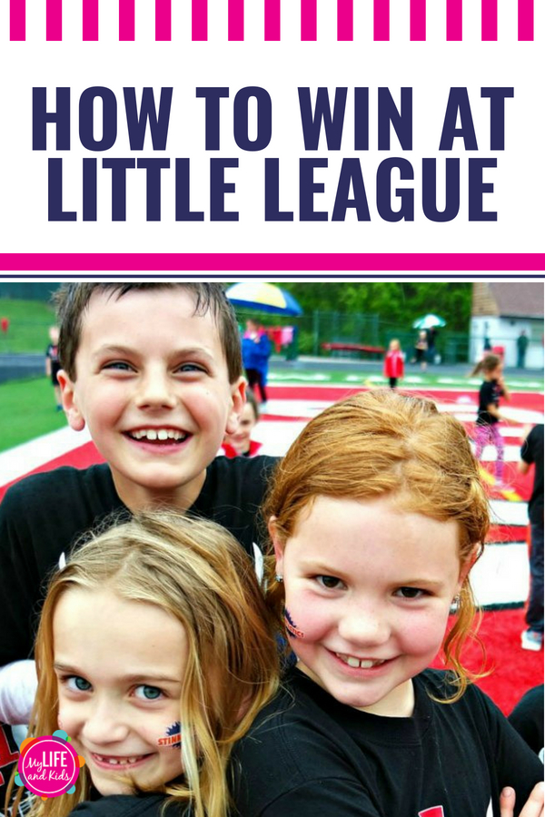 If you have kids playing little league sports, you'll want to read these 5 tips - including how to embrace the experience, what to do when your kids don't want to play and keep from going crazy during the hectic sports seasons - especially if you have more than one kid playing sports. #kids #littleleague #sports #coach