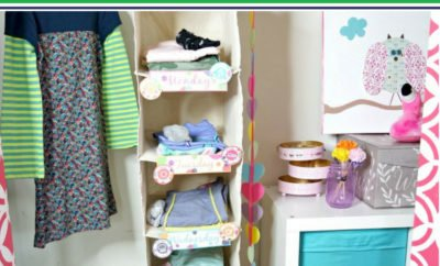 Whether you're trying to incorporate new routines to get organized for back to school (and all those new outfits), or you're just looking for a way to make your mornings run smoother, this morning hack will help your entire family get out the door each day. You don't even need to overhaul your kids' entire closet to incorporate this. From toddlers to teens (and even adults), use these free printables to get organized now. #backtoschool #outfits #organization #closets #freeprintable