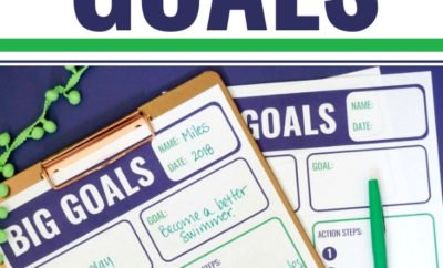 From college prep to tying their shoes, I'm sharing what our family is doing to help our kids achieve their goals in life. Download your free printable Big Goals Planner. It's perfect for parents, kids, teens and the entire family to list their personal goals and the steps they'll take to get there. Plus, learn more about the Sylvan Prep category from Sylvan Learning. #ad #SylvanLearning #college #goals #printable #free #download #kids #parents #tutoring