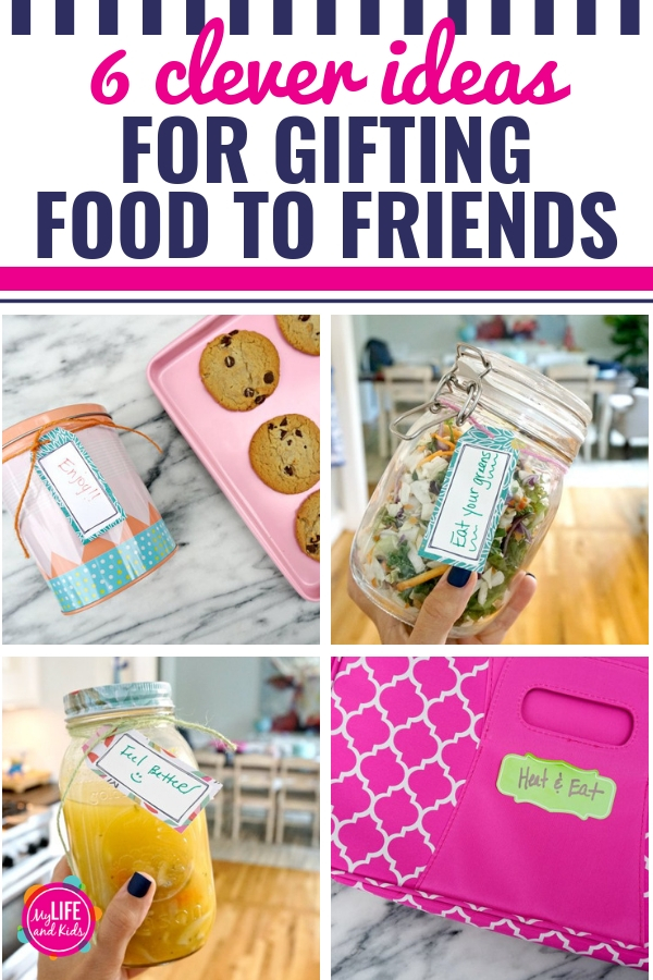From babies being born to friends having surgery or being ill, it seems that there's always someone in my community that could use a meal. From cute packaging ideas to a few shortcuts - and even some recipe ideas - I'm sharing all of my favorite ideas, hacks and tips for gifting food to friends. #gift #food #packaging #casserole #helpingfriends #hacks #ideas