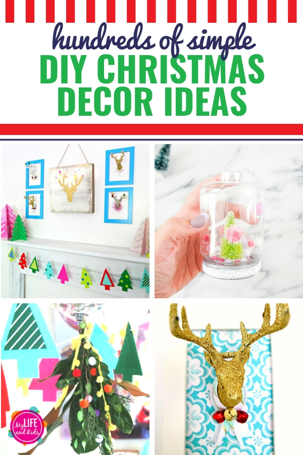 If you're looking for DIY Christmas decor ideas, then you're in the right place. Even better if you're looking for SIMPLE, EASY Christmas decor ideas that are also super cheap to make. Don't you love it when things are cheap AND easy? Personally, I call that a Christmas miracle! From Christmas decor to make with your kids to Christmas decor ideas that you can give as gifts, we have you covered!