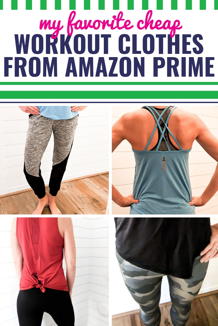 c6a9e173001d My Favorite Cute and Cheap Workout Clothes from Amazon Prime - My ...