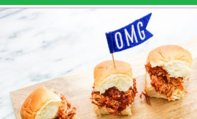 These easy Barbecue Chicken Sliders (made with shredded chicken) can be made in the crockpot or the oven (or even in the instant pot or on the stove). They're perfect for a full meal or even as a tasty appetizer for your next party. My favorite part is that they can be easily customized for the entire family, making them a versatile dinner, appetizer or even lunch option.