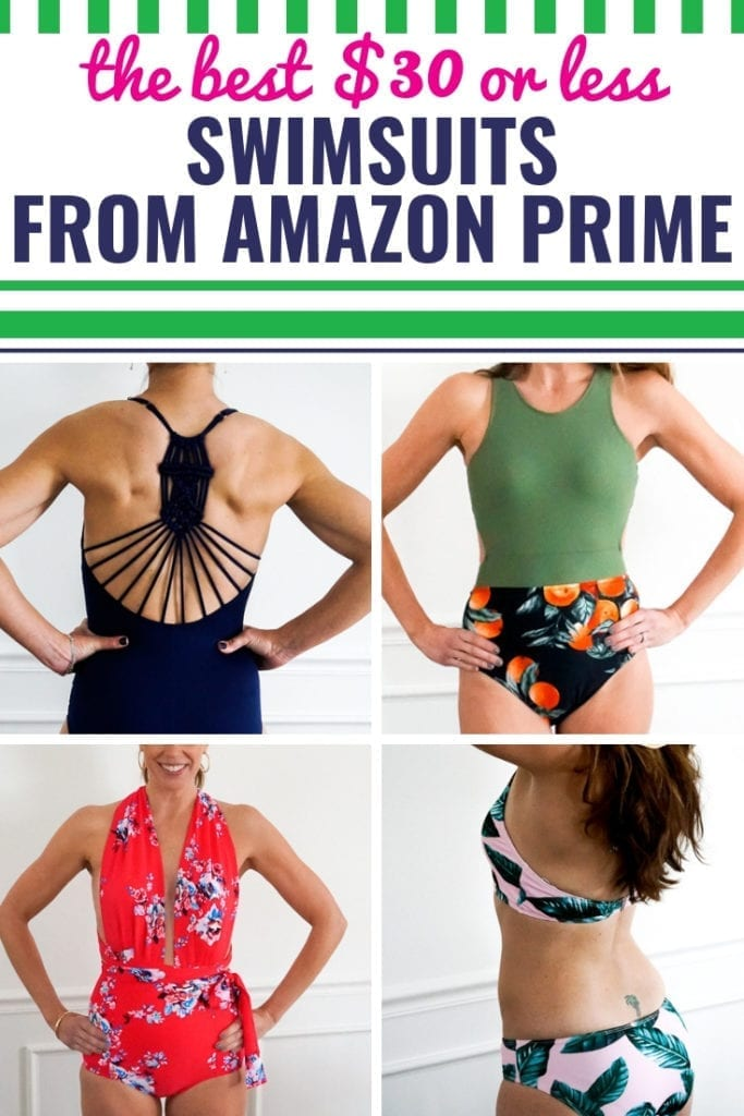 The BEST Amazon Swimsuits for Moms for $30 or Less