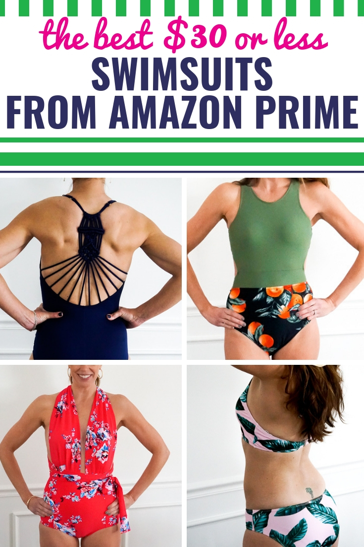 3318776a8d The BEST Amazon Swimsuits for Moms for $30 or Less - My Life and Kids