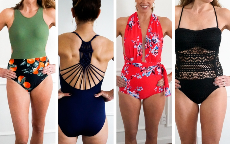 2b80ad7c45ad The BEST Amazon Swimsuits for Moms for $30 or Less - My Life and Kids