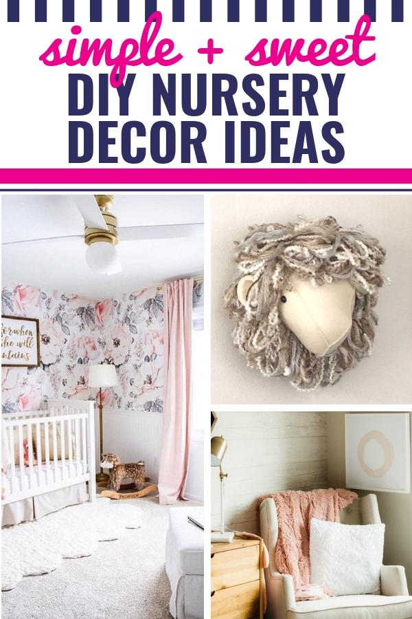 25 Diy Nursery Decor Ideas