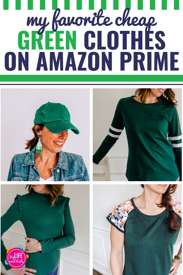 The Best GREEN Clothes on Amazon Prime for $30 or Less