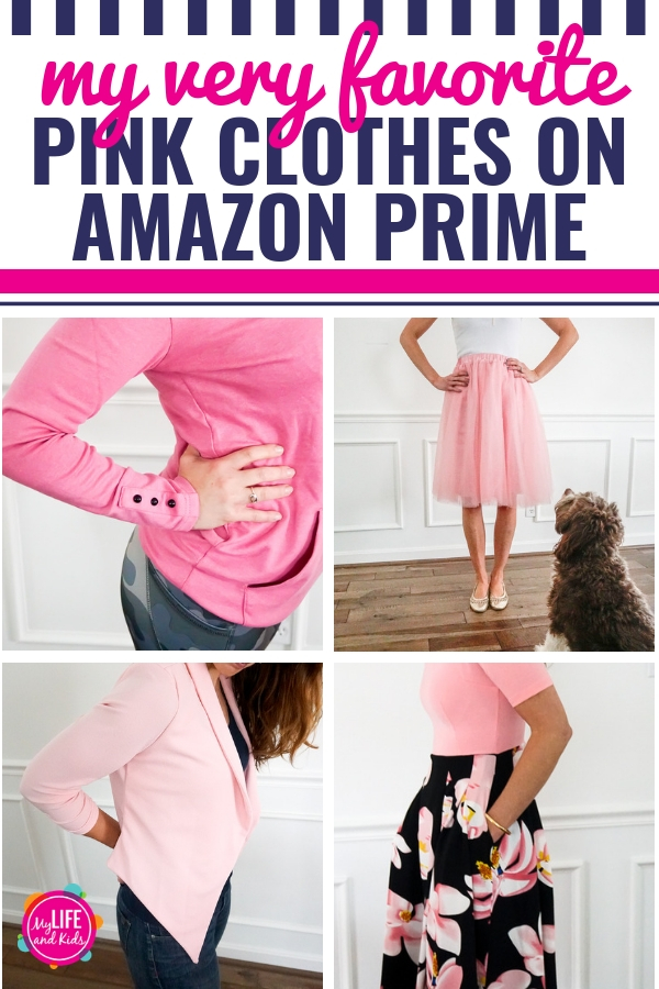 My Favorite Pink Clothes from Amazon Prime