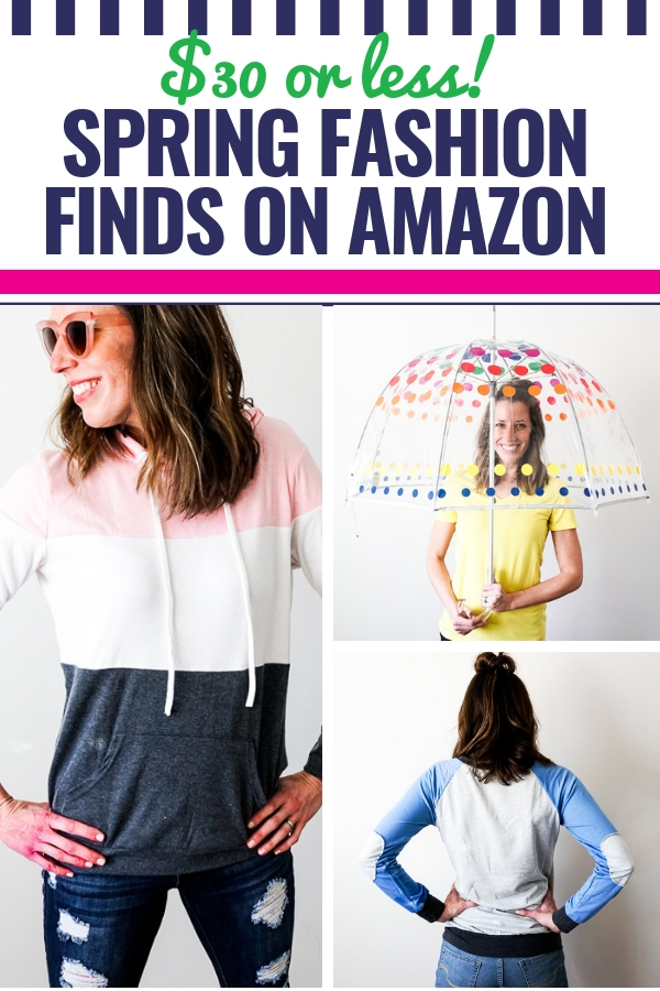 Casual Spring Wardrobe Essentials for Women – Under $30 on Amazon Prime