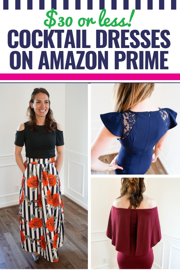 Our Favorite Cocktail Dresses on Amazon Prime – $30 or less