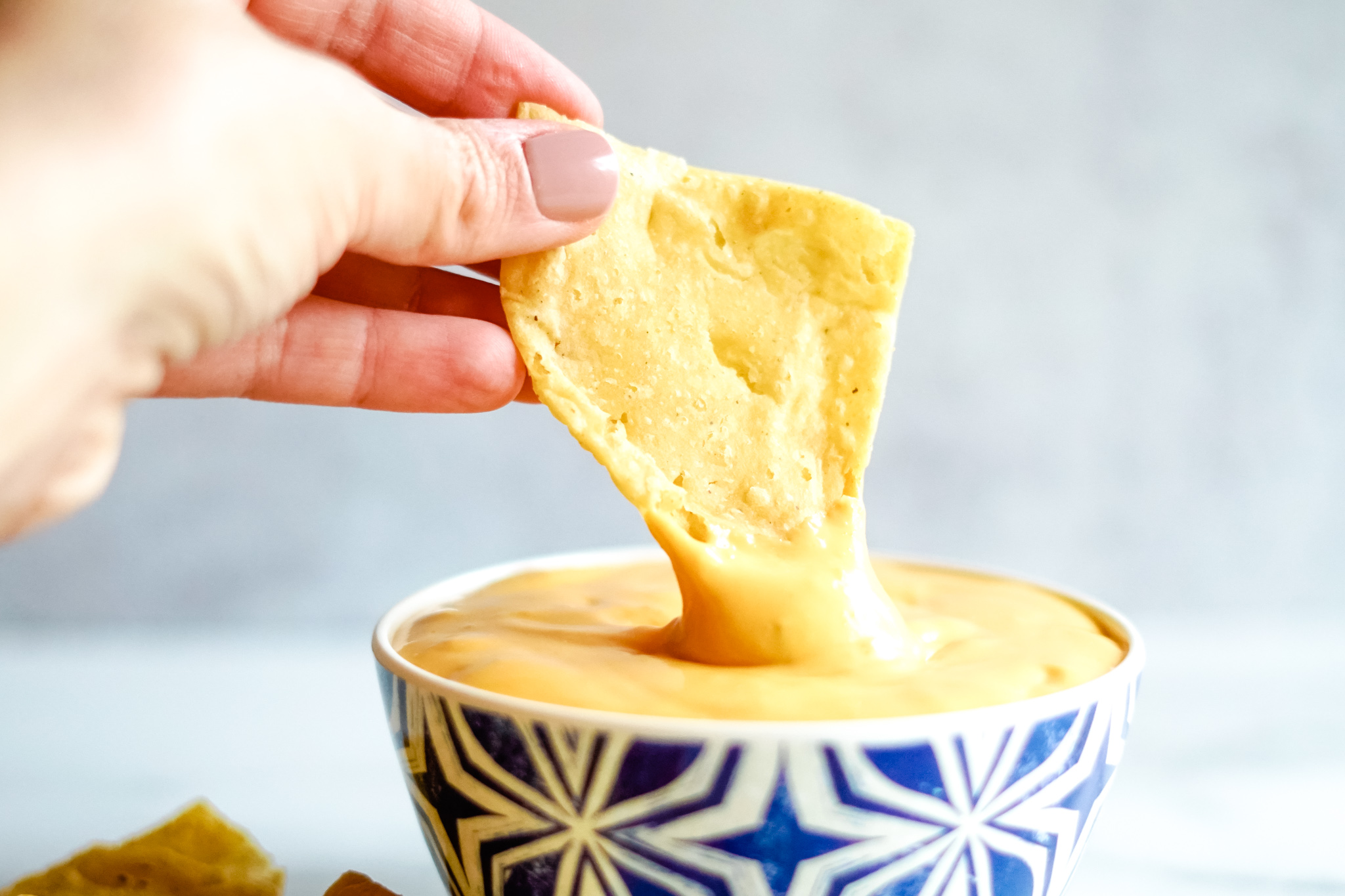 Taco Bell Copycat Chips And Nacho Cheese Sauce My Life And Kids